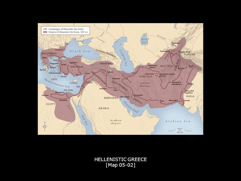 HELLENISTIC GREECE [Map 05-02]